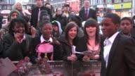 Mo Ali Director McLean Kedar WilliamsStirling at the Shank Premiere at London England