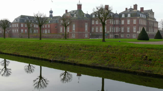 Moated Castle Nordkirchen, Muensterland, North Rhine-Westphalia, Germany