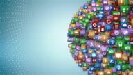 Mobile App Globe