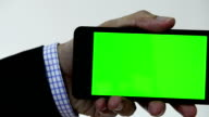 Mobile device green screen (HD)