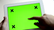 Mobile device Green Screen