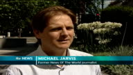 News of the World Royal Editor charged EXT Michael Jarvis interview SOT Describes how when he was at the News of the World journalists felt they were...