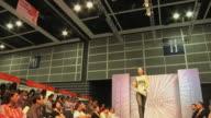 WS Model on catwalk at 2009 Hong Kong Fashion Week / Hong Kong, China
