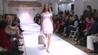 A model wears Ivanka Trump New ReadyToWear Collection at Ivanka Trump New ReadyToWear Collection Launch at Lord Taylor on March 28 2012 in New York...