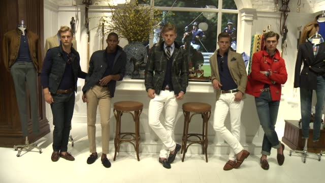 Models at Polo Ralph Lauren S/S 2016 NYFW Mens Presentation at TBD on July 16 2015 in New York City