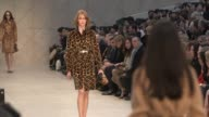 Models on the runway at Burberry Prorsum A/W 2013 Catwalk Show on February 18 2013 in London England