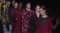 Models walk the runway at Altuzarra February 2017 New York Fashion Week at Spring Studio on February 12 2017 in New York City