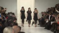 Models walk the runway at Ralph Lauren Fall 2014 MercedesBenz Fashion Week at St John's Center Studioson in New York City