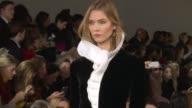 Models walk the runway during Ralph Lauren NYFW Womens F/W 2016 at 560 Washington Street on February 18 2016 in New York City