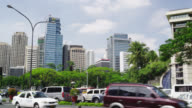 Modern Buildings Along Paseo de Roxas Street, Makati