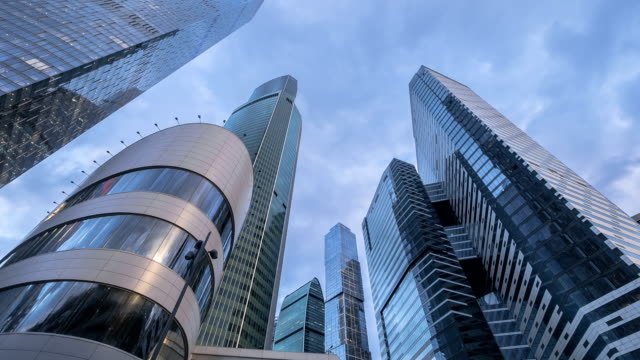 Modern business center in Moscow