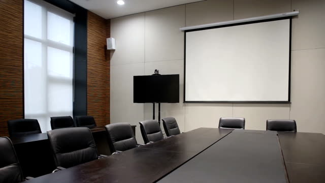 modern business office meeting room interior