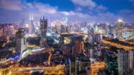 T/L WS HA PAN Modern City at Night / Shanghai, China