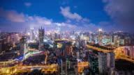 T/L WS HA Modern City at Night / Shanghai, China