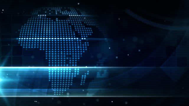 Modern Earth Loop - Night Glow Blue (Full HD)