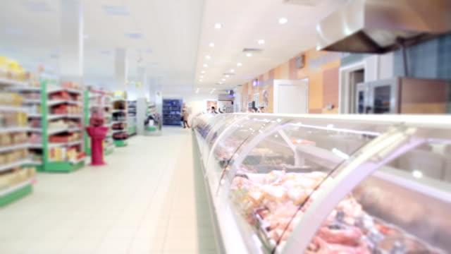 Moderne Supermarkt store