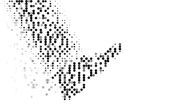 STEP : modern halftone style (TRANSITION)