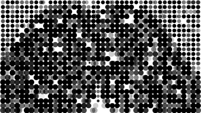 BUTTOCKS : modern halftone style (LOOP)