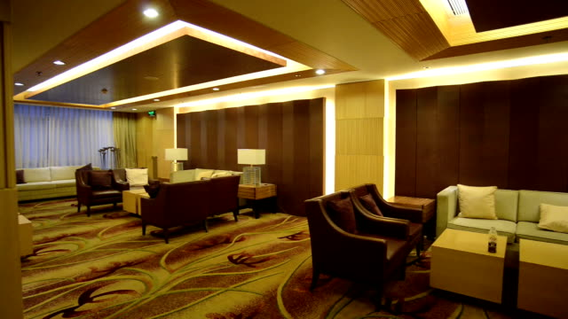 Modern Lobby interior and decoration.Real time.