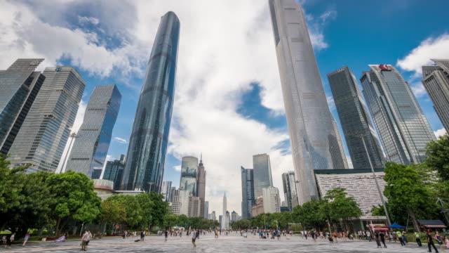 T/L WS LA ZI Modern Skyscrapers in Guangzhou / Guangzhou, China