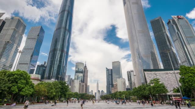 T/L WS LA ZO Modern Skyscrapers in Guangzhou / Guangzhou, China