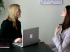 Modern Workplace: Female Executive Interviews Woman