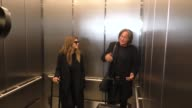 INTERVIEW Mohamed Hadid Shiva Safai talk about going to see Gigi Hadid Bella Hadid modeling in Paris while departing at LAX Airport in Los Angeles in...