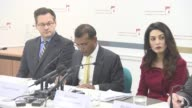 INTERVIEW Mohamed Nasheed on Abdulla Yameen taking action chashing down the people who are causing human rights issues at Press Conference with...