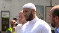 Mohammed Mahmoud Imam at the Muslim Welfare House in Finsbury Park describing how he protected the Finsbury Park terror suspect from being hurt...