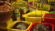 Mole traditional food sauce in mexico