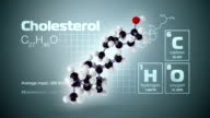 Molecule of Cholesterol
