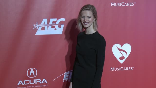 Molly Kate Kestner at MusiCares Person of the Year Honoring Tom Petty in Los Angeles CA