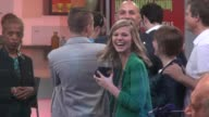 Molly Kate Kestner on the set of the Good Morning America show in Celebrity Sightings in New York