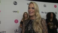 INTERVIEW Molly Sims talks about how impressed she is by the girls at The 2018 Miss America Competition on September 10 2017 in Atlantic City New...