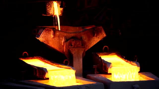 Molten copper