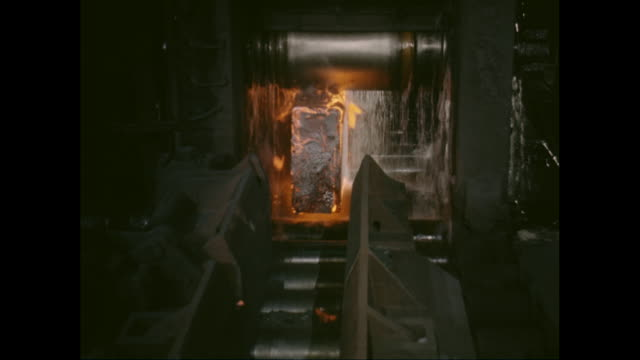 MS Molten steel in foundry / United States