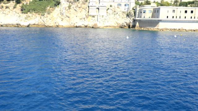 Monaco Aerial Monte Carlo city building finance waterfront