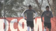 AS Monaco train ahead of their Champions League last 16 second leg tie against Manchester City The group included Premier League misfit Radamel...