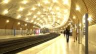 Monaco-Monte Carlo train station.