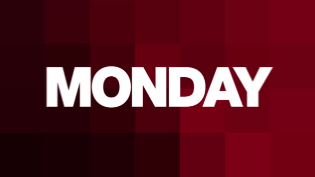 Monday Text Animation