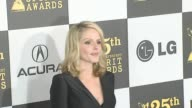 Monet Mazur at the 2010 Film Independent's Spirit Awards Arrivals at Los Angeles CA