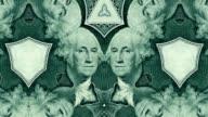 Geld Kaleidoskop-Hintergrund HD