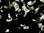 Money Rain with Alpha 25 sec NTSC ( 100 dollars )