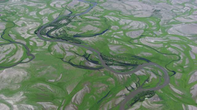 Mongolia : Winding streams