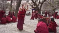 Monks Debating at Sera Monastery, Lhasa, Tibet