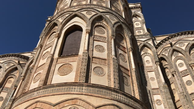 Monreale Cathedral, in Sicily, Absydes