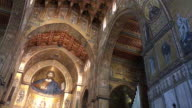 Monreale Cathedral, in Sicily, View of Interior