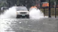 Monsoon rains worsened by Typhoon Usagi pound the Philippines causing widespread flooding CLEAN Monsoon rains pound Philippines causing on September...