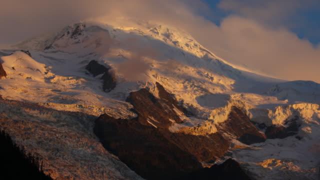 Mont Blanc Sunset from Chamonix
