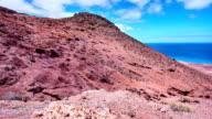 Montaña roja views - oostelijke kust van het noorden van Fuerteventura